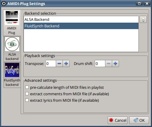 How-to: MIDI playback - Audacious - Redmine